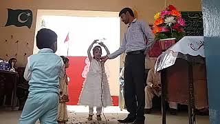 Daadi ama kehti ha chaand pa pariya rehti hain beautiful poem by a small school girl GPS Atheel pur