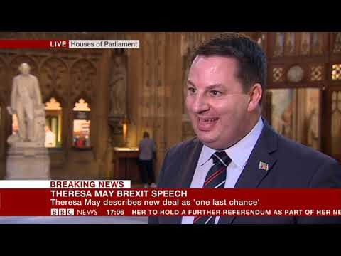 """Andrew Percy MP's reaction to the PM's """"new Brexit deal"""""""