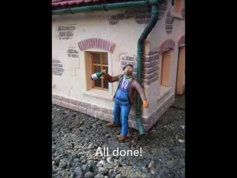 Model Railway Train Track Plans -Amazing Ideas For Customising a G-Scale Figure: 3 – A Drunken Figure (January 2008)