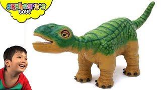 Baby Dinosaur Pleo - Skyheart's new brachiosaurus toy with Miposaur for kids jurassic world