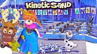 Kinetic Sand Frozen Anna's Birthday - Kids' Toys