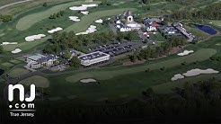 Flying over Trump National Golf Course