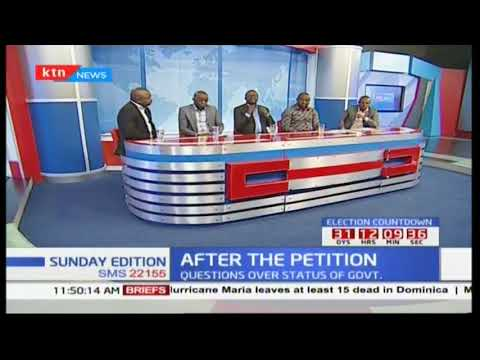 """""""There is no constitutional crisis in Kenya..."""" AG Githu Muigai"""
