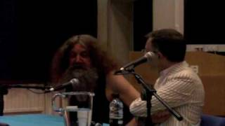 Alan Moore at the Magus Conference 2010 1/5