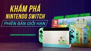 Trên tay Nintendo Switch Animal Crossing: Máy game DỄ THƯƠNG NHẤT mọi thời đại