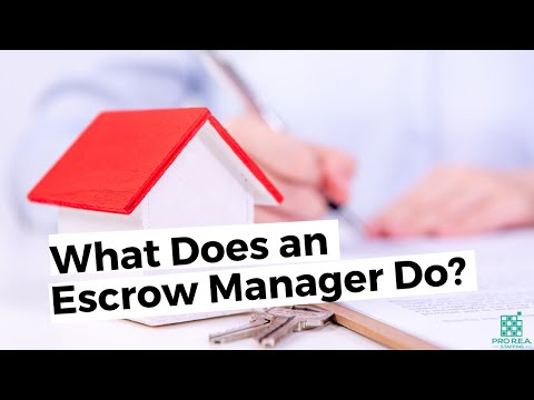 What Does an Escrow Manager Do? What about Escrow Officers? (Exploring Careers in Real Estate)
