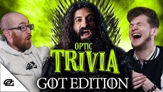 HOW WELL DO YOU KNOW GAME OF THRONES? --SPOILERS-- | OpTic Trivia GOT Edition