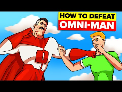 How To Defeat Omni-Man from Invincible TV Show