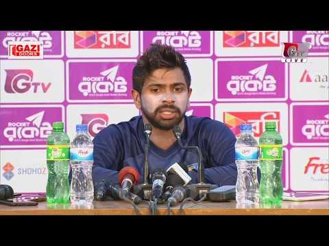 Niroshan Dickwella's Press Conference after Bangladesh vs Sri Lanka 1st Test Day 04