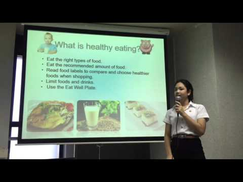 Food and health presentation