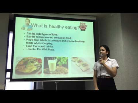 Food and health presentation