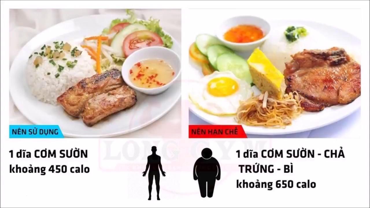 Lượng calo trong thức ăn hàng ngày phổ biến ở Việt Nam