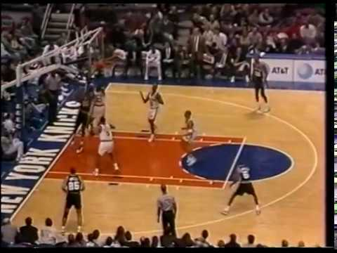 David Robinson (45p/16r) - Highlights vs Patrick Ewing/Knicks 1995/96 season