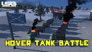 Space Engineers - Hover Tank Battle