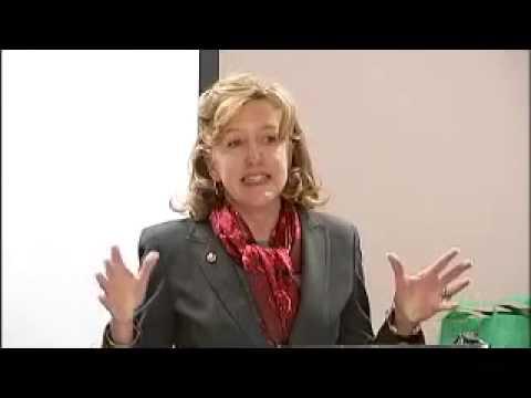 Kay Hagan speaks to Young Democrats