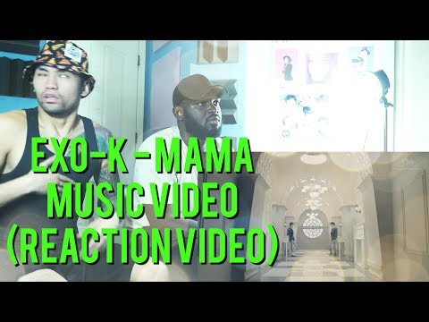EXO-K - MAMA - Music Video - (Reaction Video)