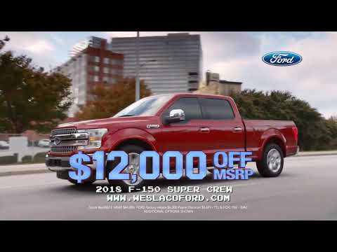 Get $12,000 OFF MSRP on a 2018 F-150 Super Crew | Payne RGC Ford | Rio Grande City, Texas