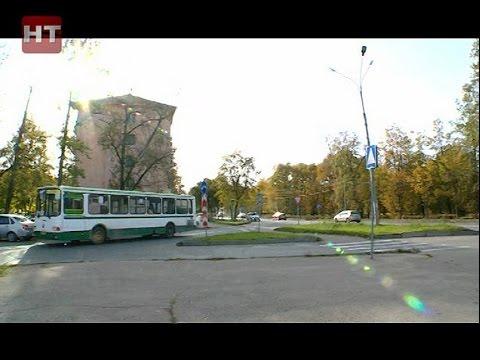 Второй день автобус № 1а в Великом Новгороде ходит по новому маршруту