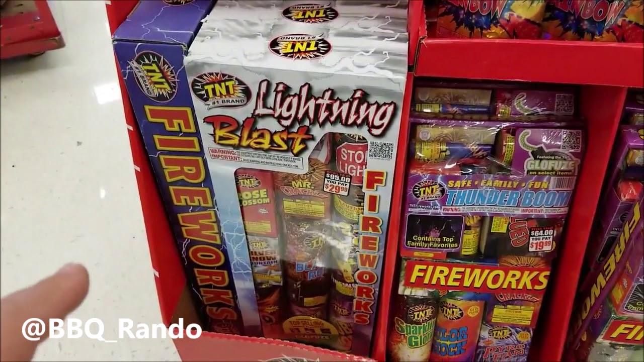 TNT Fireworks Target 2018 AZ