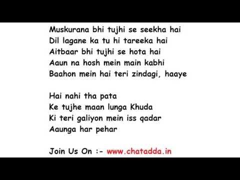 HUMSAFAR Lyrics Full Song Lyrics Movie - Badrinath Ki Dulhania | Akhil Sachdeva