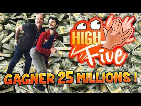 High Five ! - Gagner 25 Millions ! - Talk Show Fanta et Bob