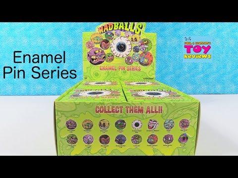 Madballs Enamel Pin Series by Kidrobot