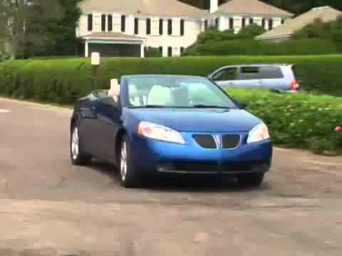 2007 Pontiac G6 Convertible Review