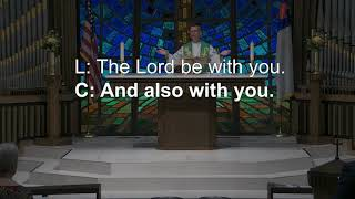 Ascension Lutheran Church 8:30am Tyler June 27-2021