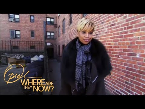 Mary J. Blige Goes Back to Her Old Neighborhood  | Where Are They Now | Oprah Winfrey Network