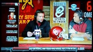 OU Sooner Sports Talk with Bob Stoops Red River Rivalry Edition October 15, 2013 Part I