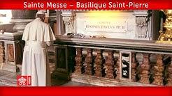 Basilique Saint-Pierre 18 mai 2020 Pape François