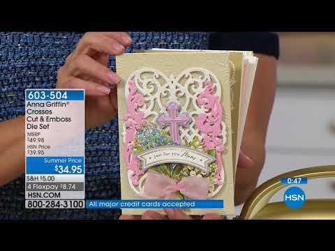 HSN | Paper Crafting Tools & Supplies 05.02.2018 - 03 AM