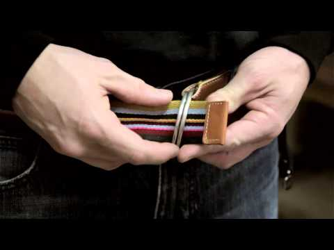 How To Buckle A Double-Ring Belt : Solutions For Clothing Questions