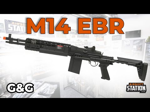 G&G M14 EBR HBA-S and HBA-L Airsoft Gun Overview