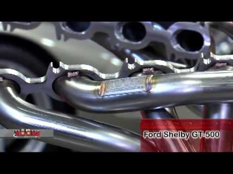 Video: Kooks Headers 2006-2013 Shelby GT500 Headers And