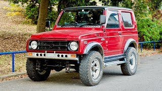 1993 Suzuki Jimny Sierra Wide 1300cc (USA Import) Japan Auction Purchase Review