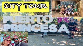 CITY TOUR PUERTO PRINCESA PALAWAN   PHILIPPINES TRAVEL VLOG