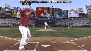 MLB 12 THE SHOW - New York Yankees Vs. Los Angeles Angels Anaheim
