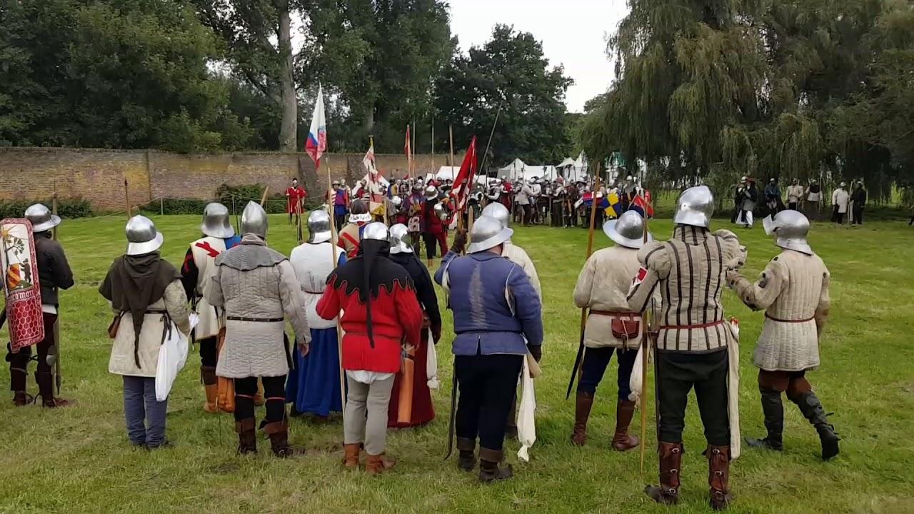 Schlacht Um Kloster Graefenthal Aufmarsch Der Truppen Youtube