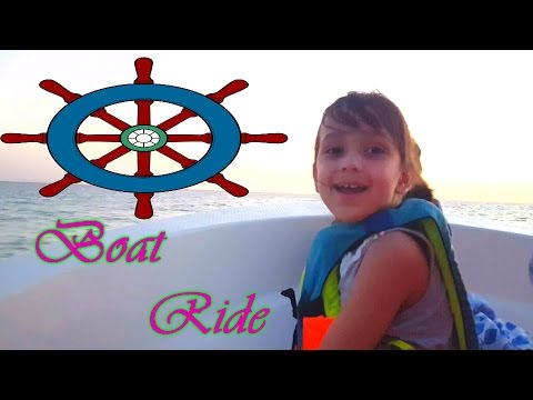 Boat Ride Kids Family Fun Playtime Red Sea S.A Paseo en Bote