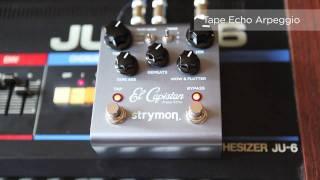 Strymon - El Capistan dTape Echo - Synthesizer Audio Clips