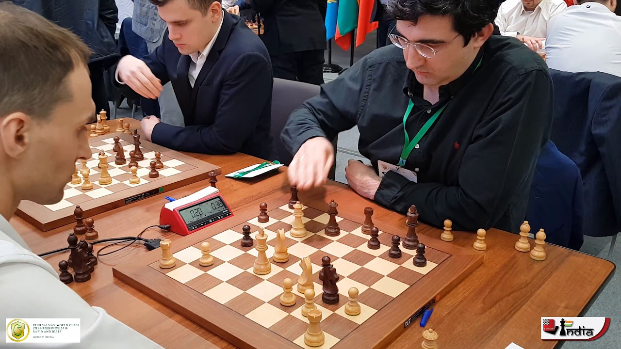 Vladimir Kramnik comes out of retirement for World Blitz 2019.