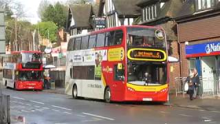 Buses  at Sutton Coldfield Parade   March 2018