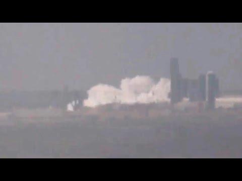 SpaceX Starship SN7 tank bursts during pressure test