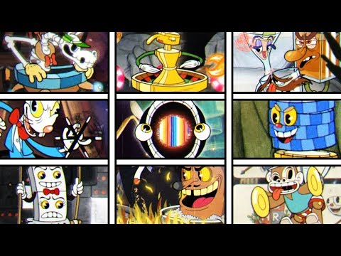 Cuphead / KING DICE EXPERT ALL 9 BOSSES (and King Dice) IN ONE ATTEMPT