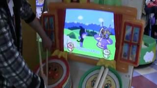 Repeat youtube video マイバチでアンパンマンのたいこでどんどん