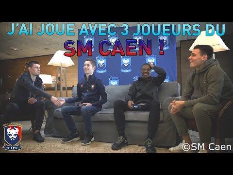 J'AI JOUÉ A FIFA AVEC 3 JOUEURS DU SM CAEN !! (F.Guilbert, J.Deminguet et J.Nkololo)