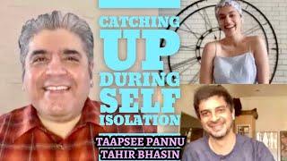 Taapsee Pannu & Tahir Bhasin interview with Rajeev Masand | Lockdown | Run Lola Run