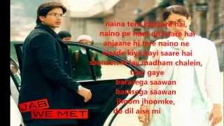 Aaoge Jab Tum O Saajana-JAB WE MET-karaoke by yakub.