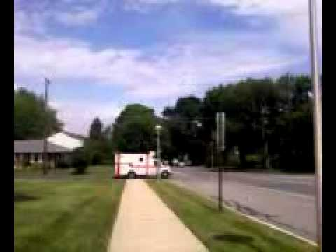 Cetronia Ambulance 6289 Responding